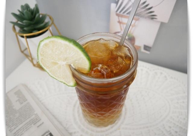 好清爽「柚香咖啡」美美的漸層感~
