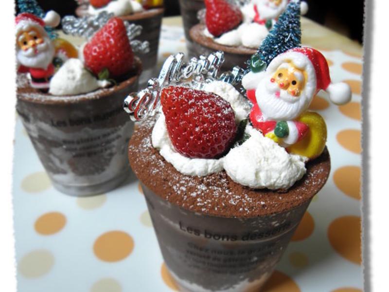 聖誕限定~巧克力慕斯杯