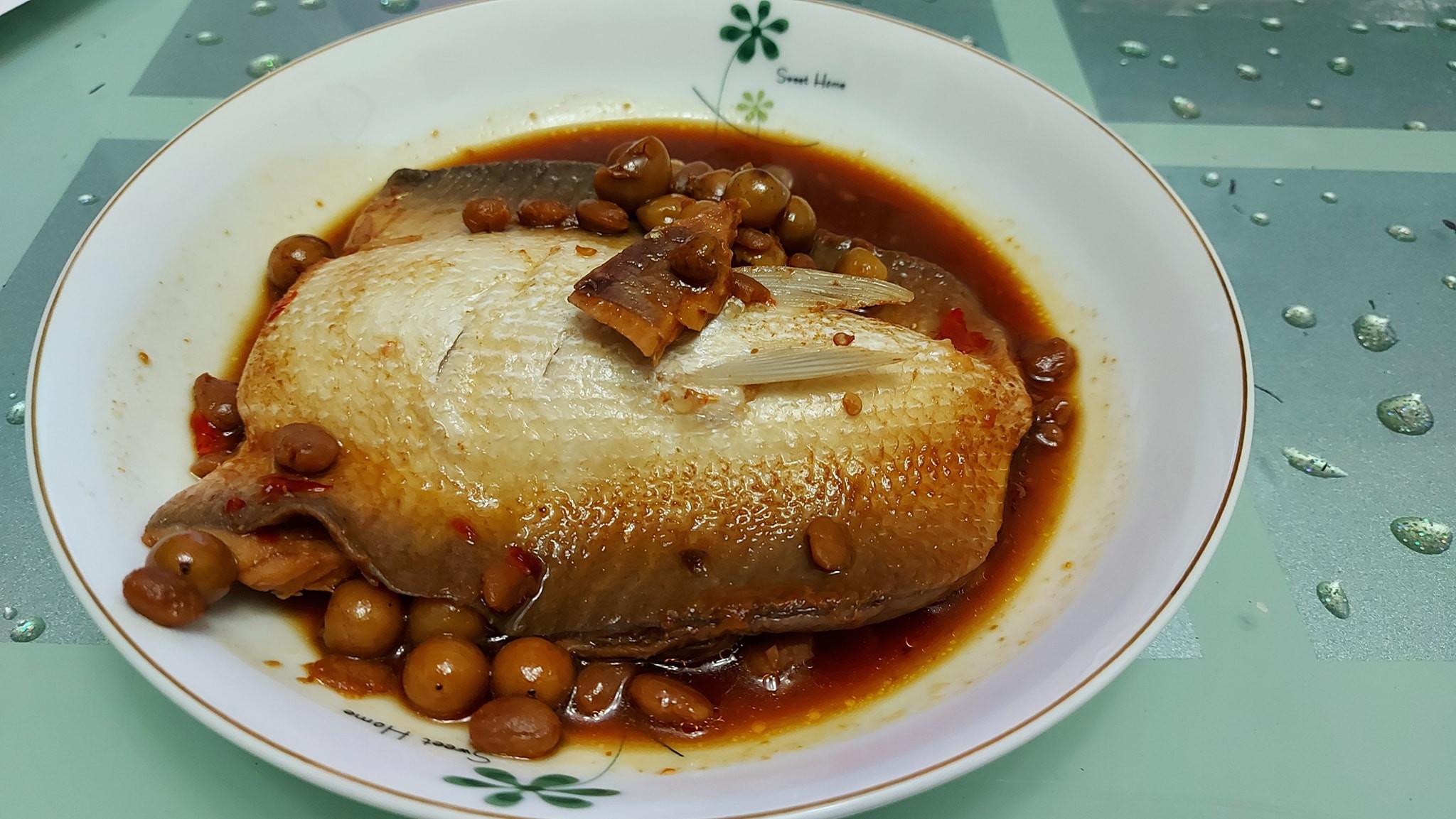樹子醬燒虱目魚