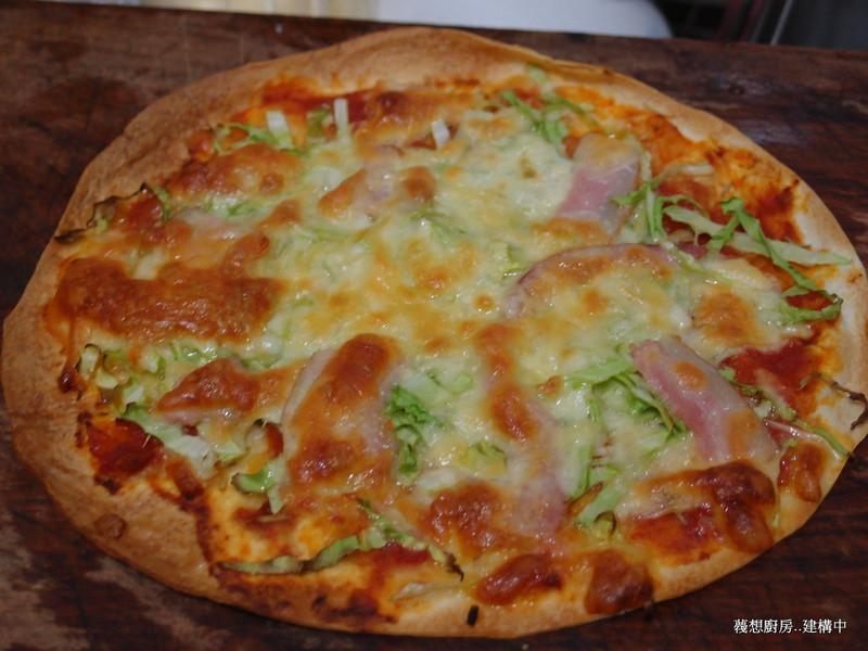 【博客~歡聚首選】墨西哥餅pizza