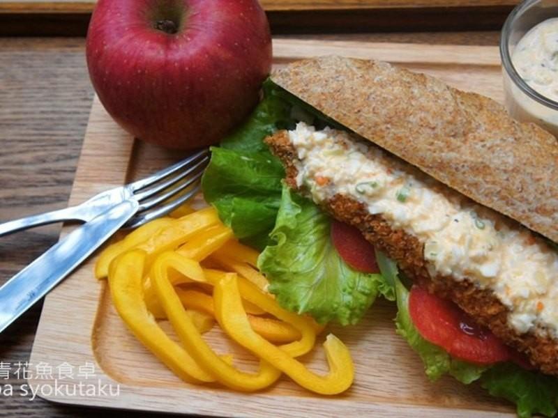 鯖魚排三明治