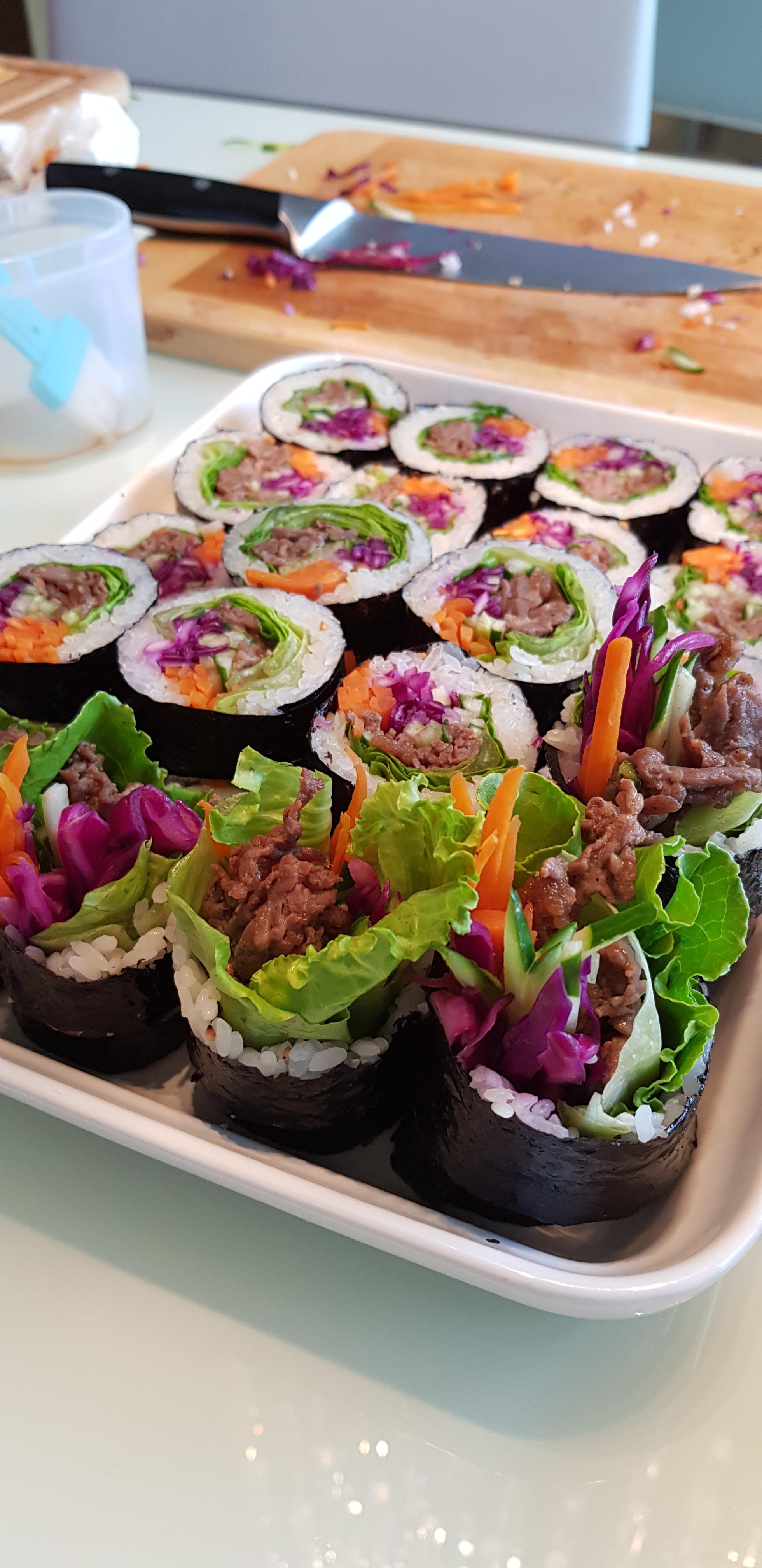 韓國花壽司