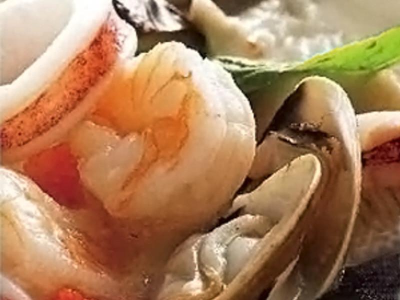 海鮮燉飯 (即食創意)