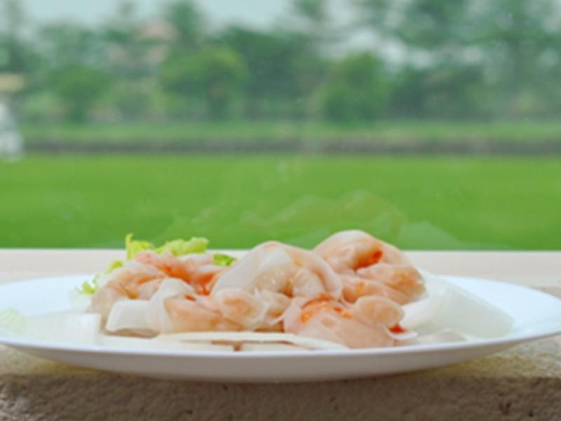 泰式涼拌蝦餃 (即食創意)