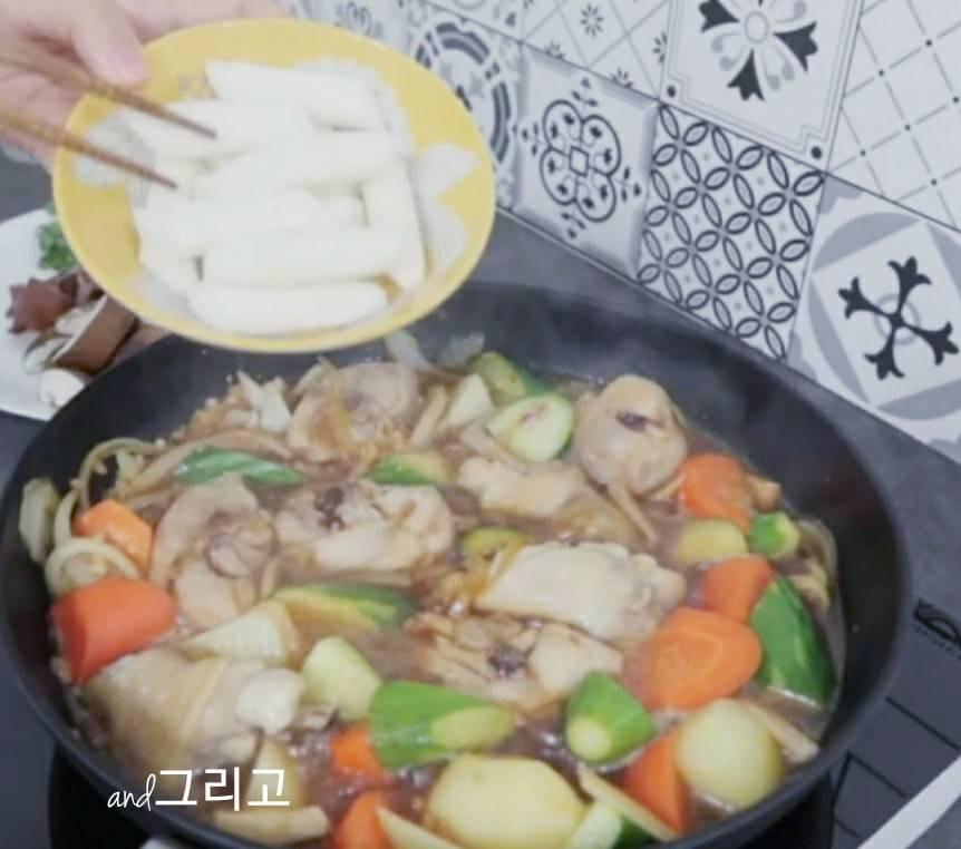韓國安東燒雞作法  안동찜닭