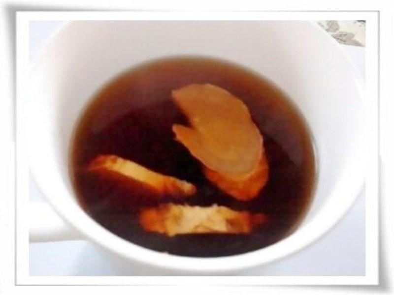 冬天必備-黑糖薑茶