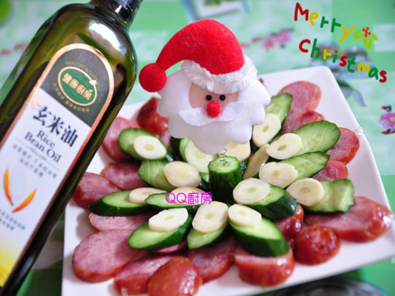 """【黃金玄米油HOME炸料理】  歡樂聖誕好友""""腸香""""左右"""