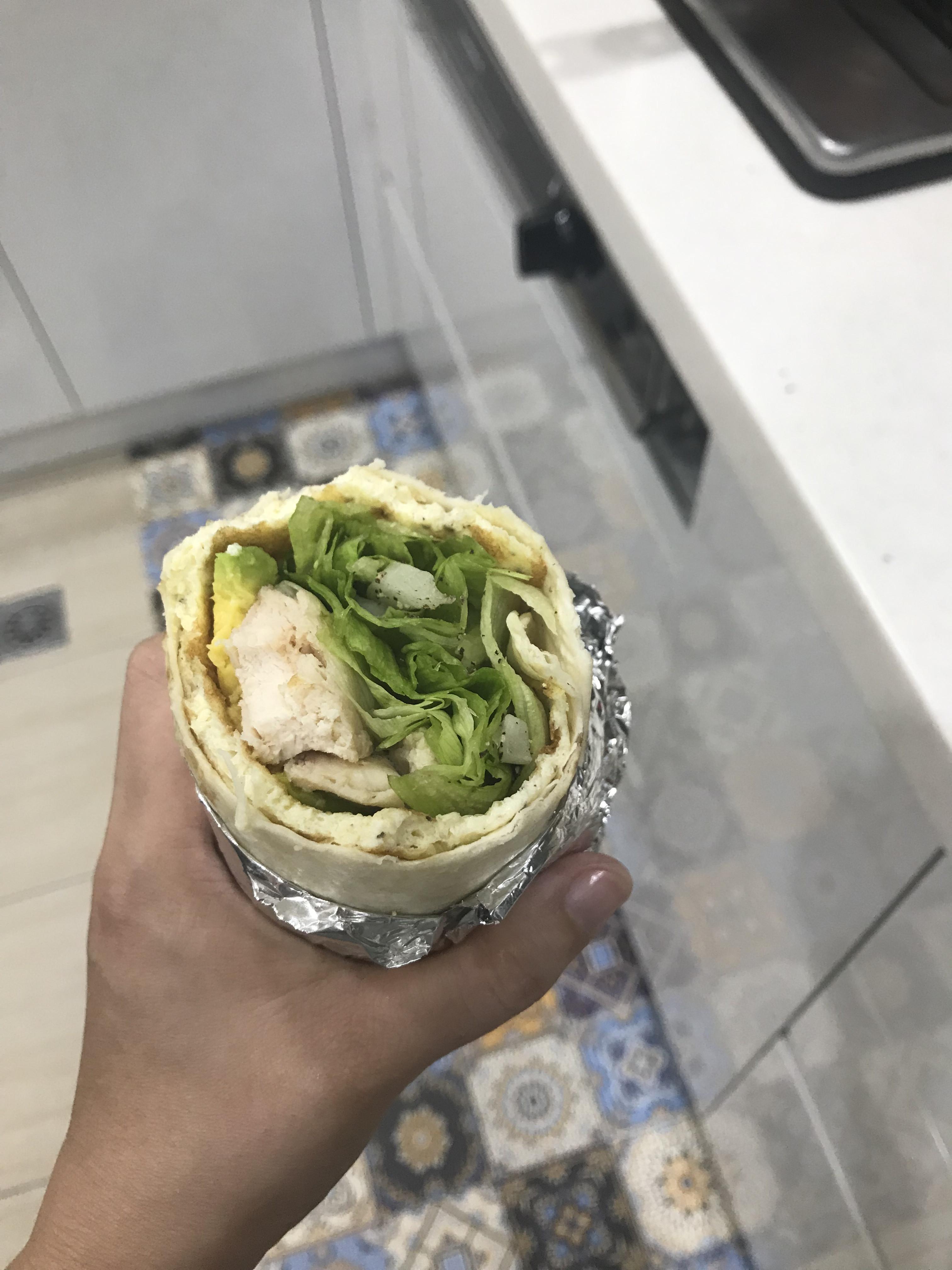 墨西哥蔬菜雞肉卷