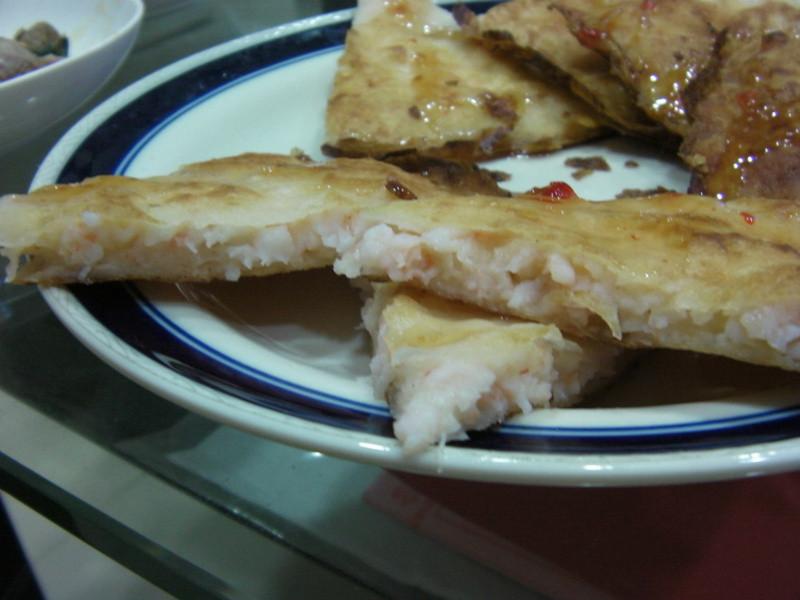 型男試做-月亮蝦餅