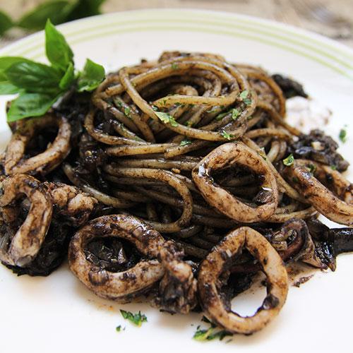 威尼斯墨魚麵 Spaghetti alle seppie
