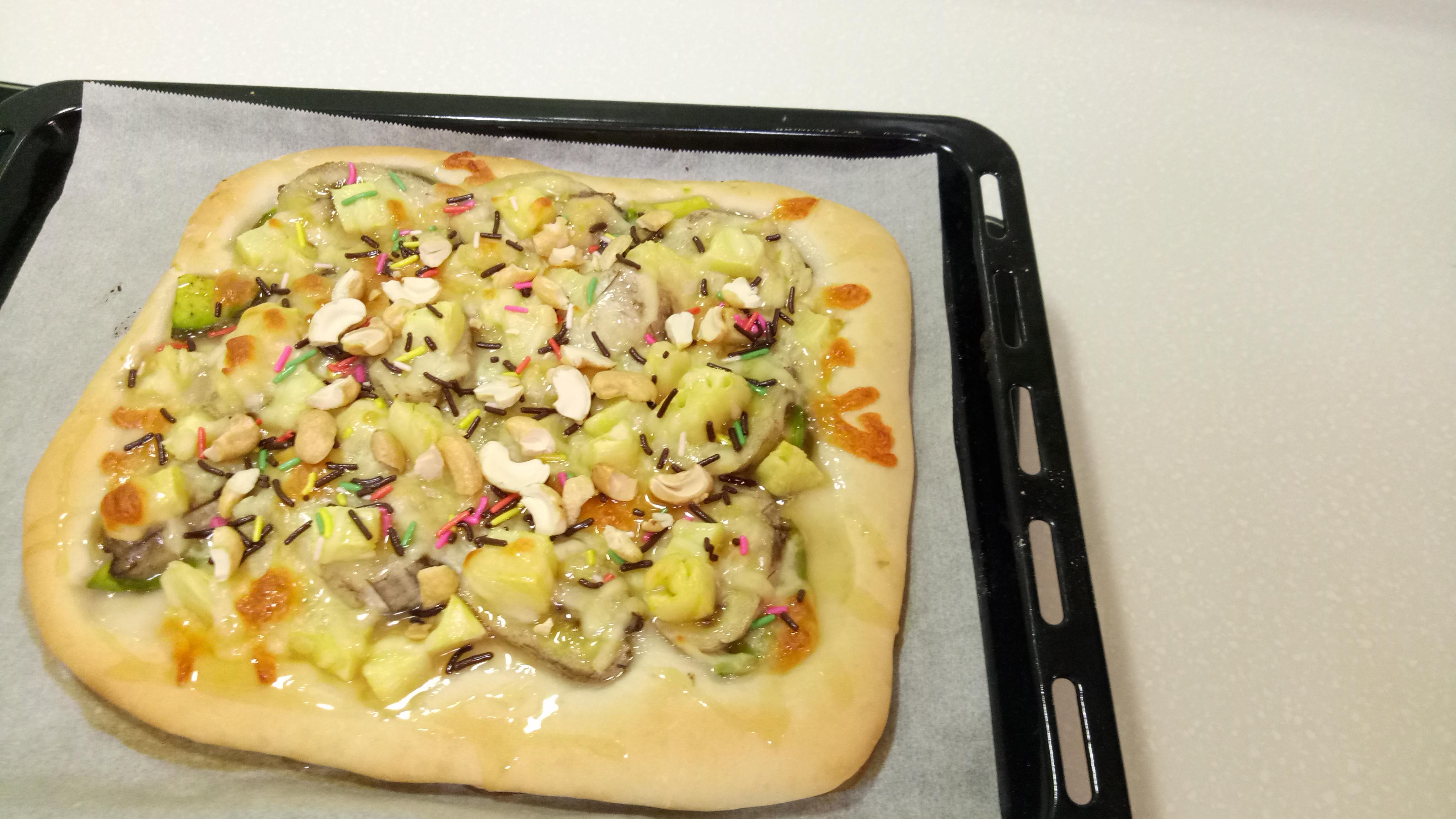 酪梨水果披薩🍕