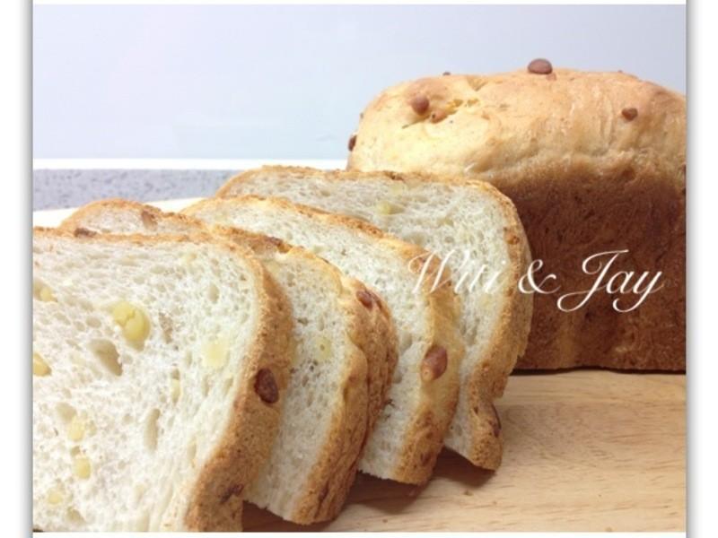 [Witi✿Kitchen](麵包機-麵包)天然酵母松子豆漿吐司