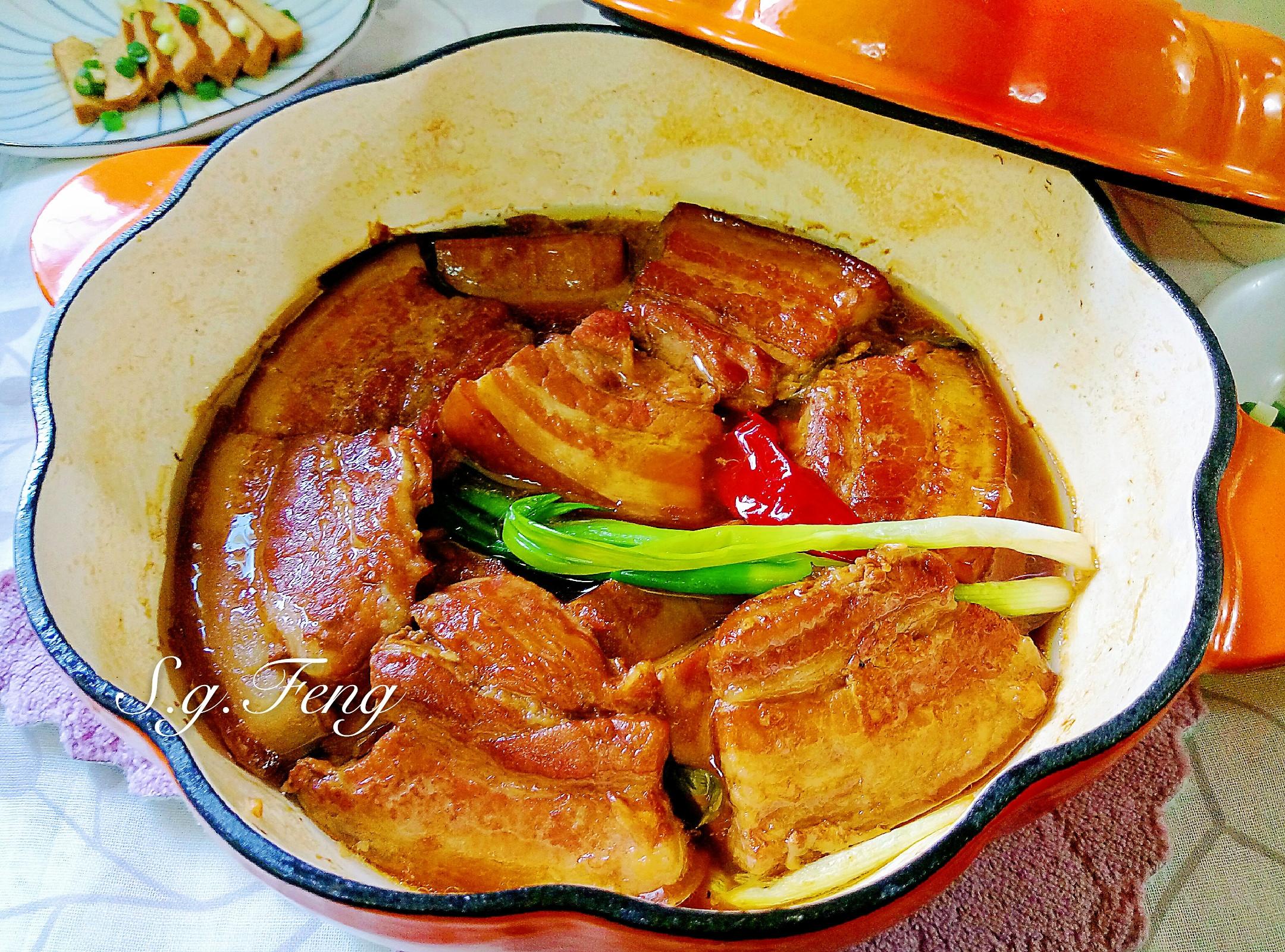 香滷豬五花豆乾