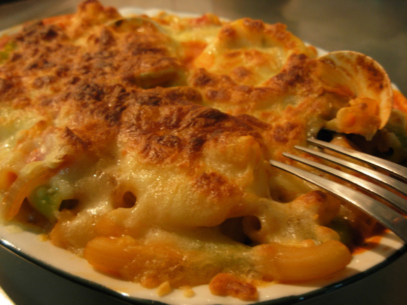 [ 廚房試做 ]  焗烤海鮮義大利麵