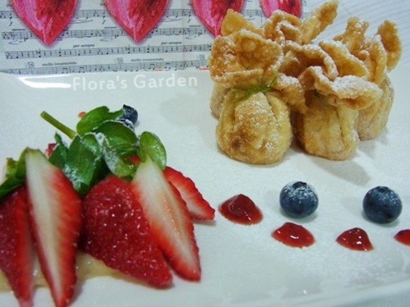 黃金玄米油Home炸料理【戀愛般的酸甜滋味-脆皮草莓】