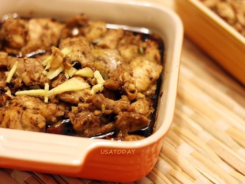 【東煮】南乳蒸雞 Steamed Chicken with fermented bean curd
