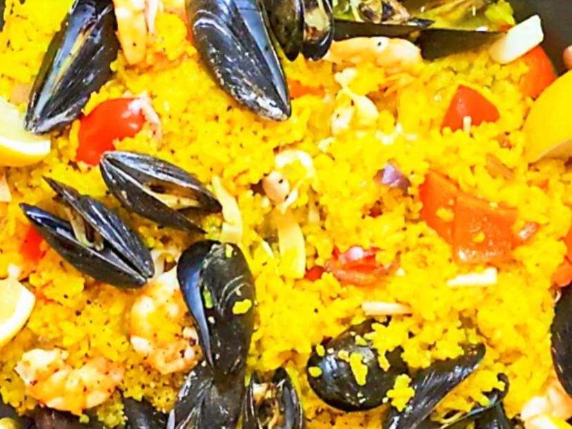 創意海鮮西班牙燉飯