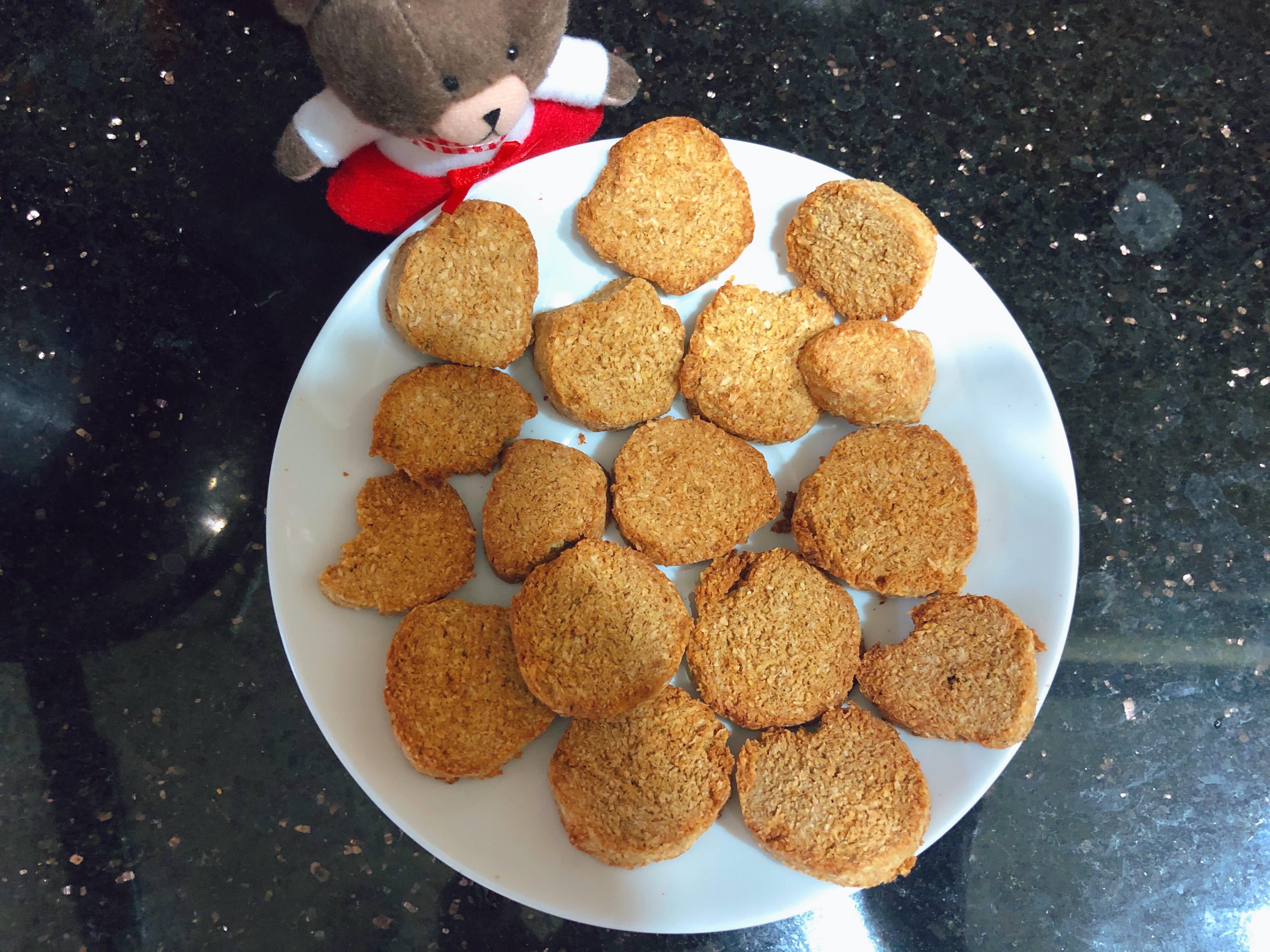 豆渣椰子餅乾🍪