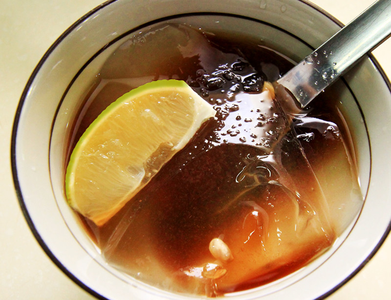 【厚生廚房】黑糖檸檬愛玉