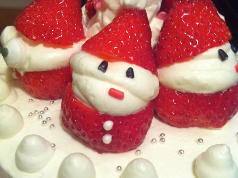 草莓聖誕老人