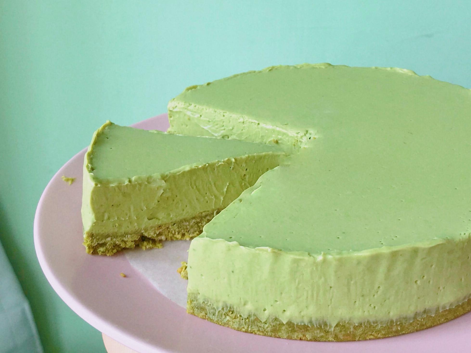 (免烤)重抹茶生乳酪蛋糕(6吋