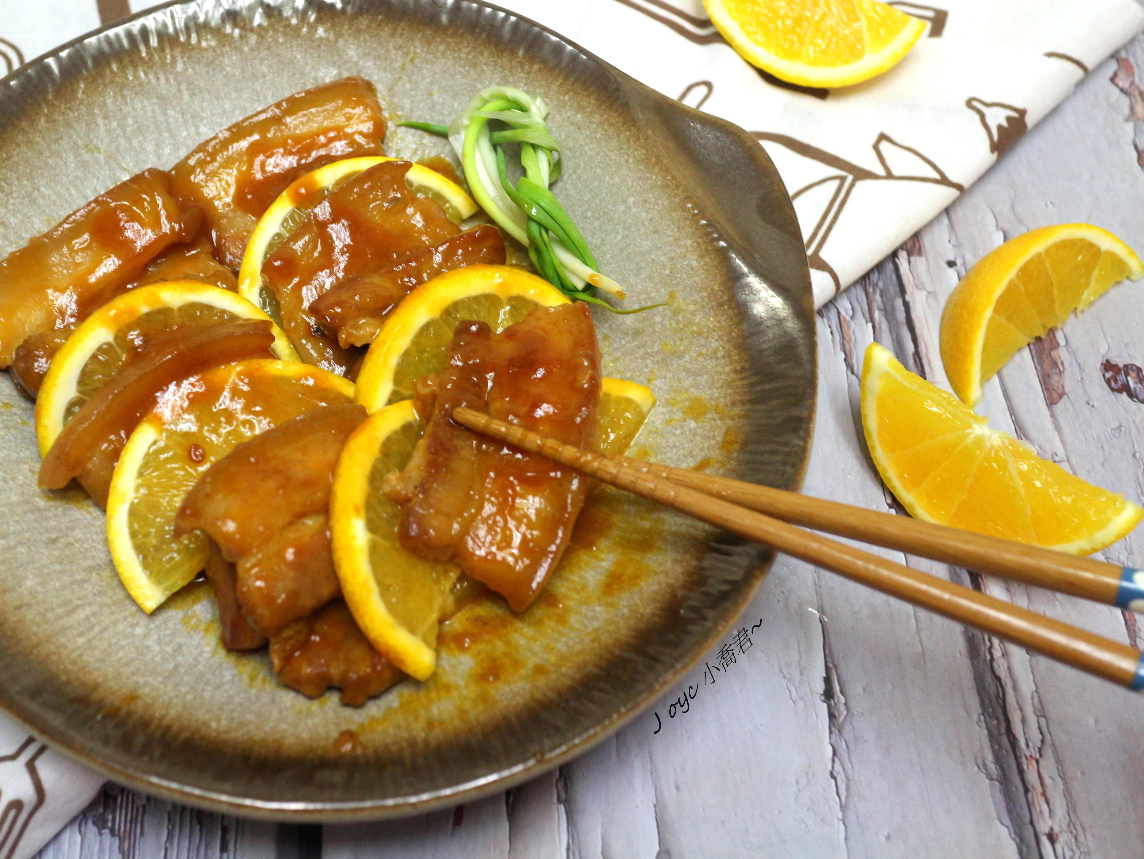 酸甜橙汁燉煮五花肉