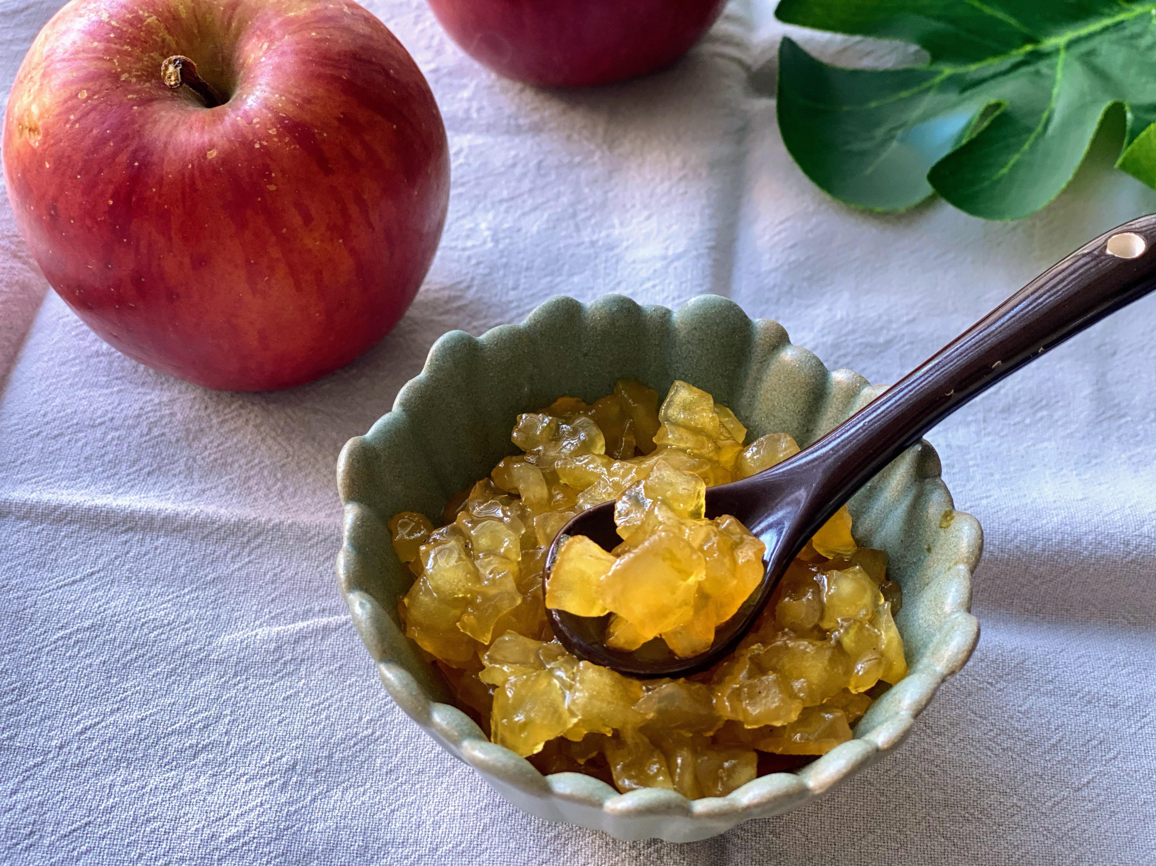 香草蘋果果醬