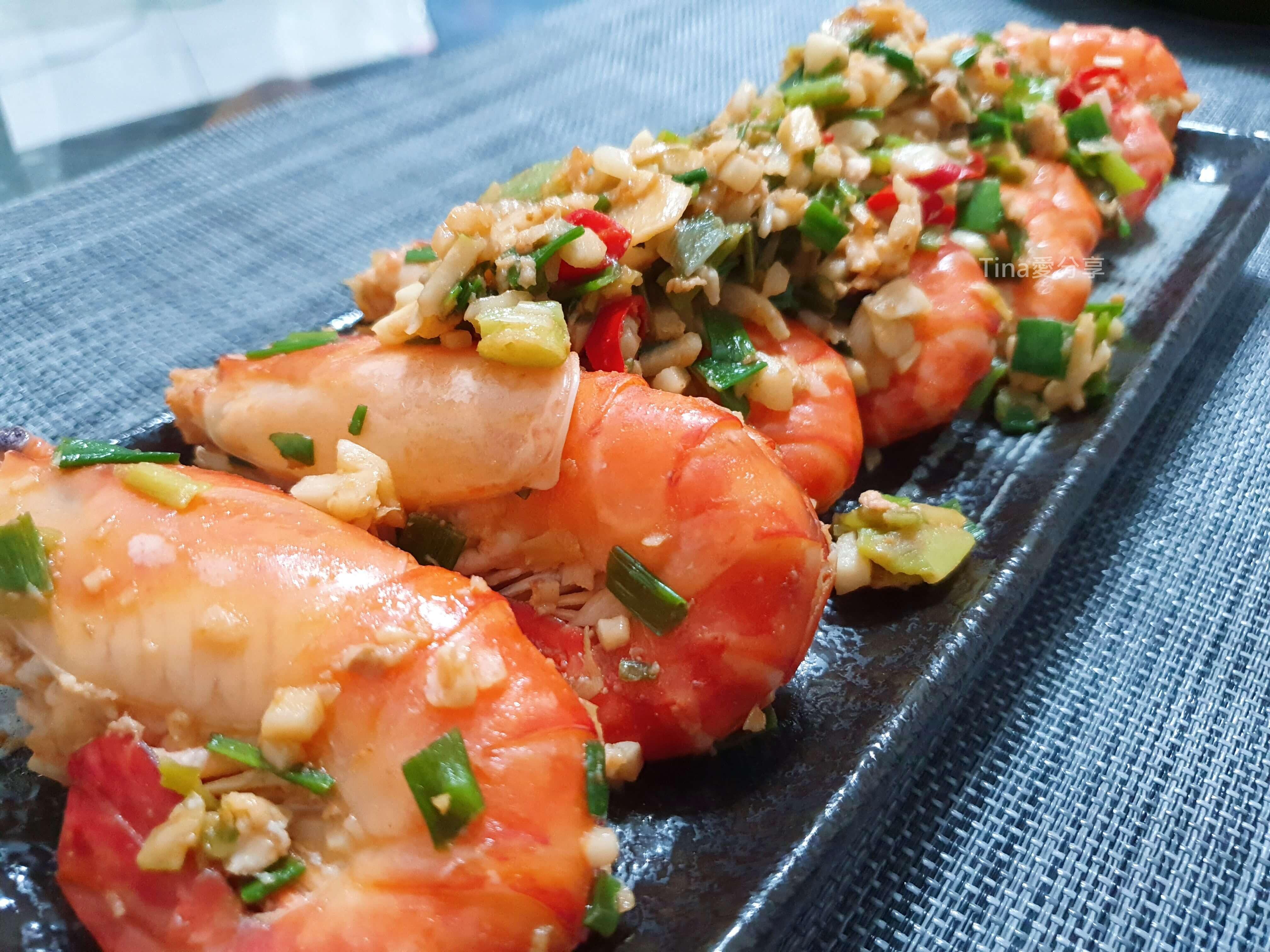 蔥蒜泰國蝦