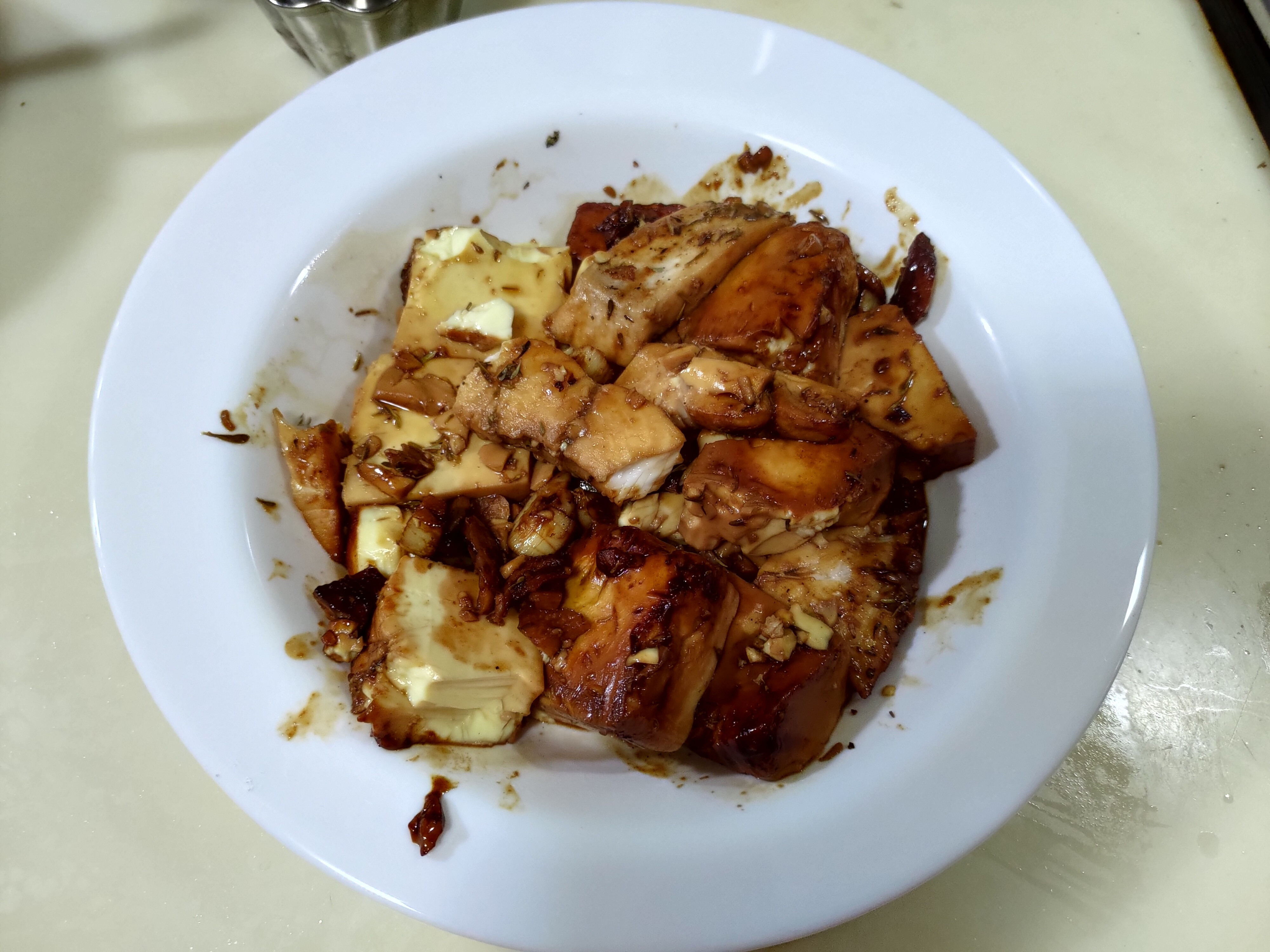 台灣鯛三吃 2— 醬燒豆腐鯛