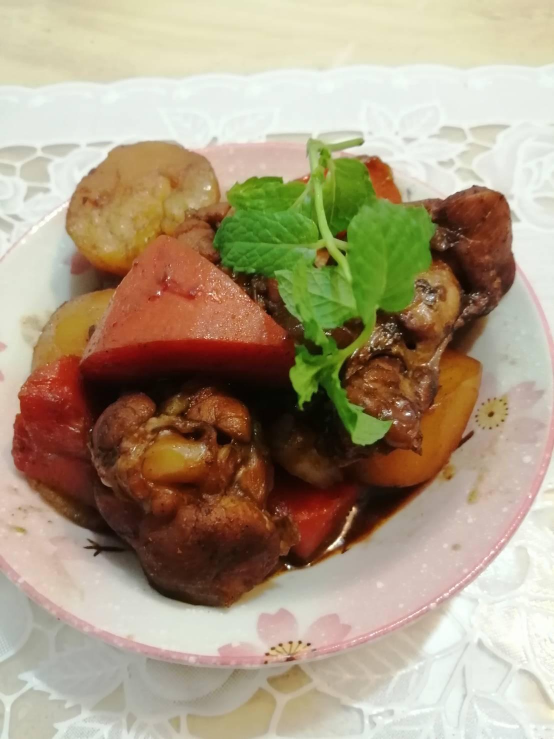 日式馬鈴薯燉小雞腿
