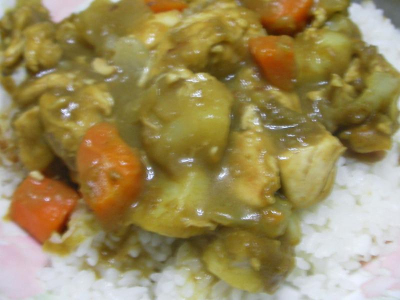 【穀盛綠咖哩 】南洋風咖哩雞飯