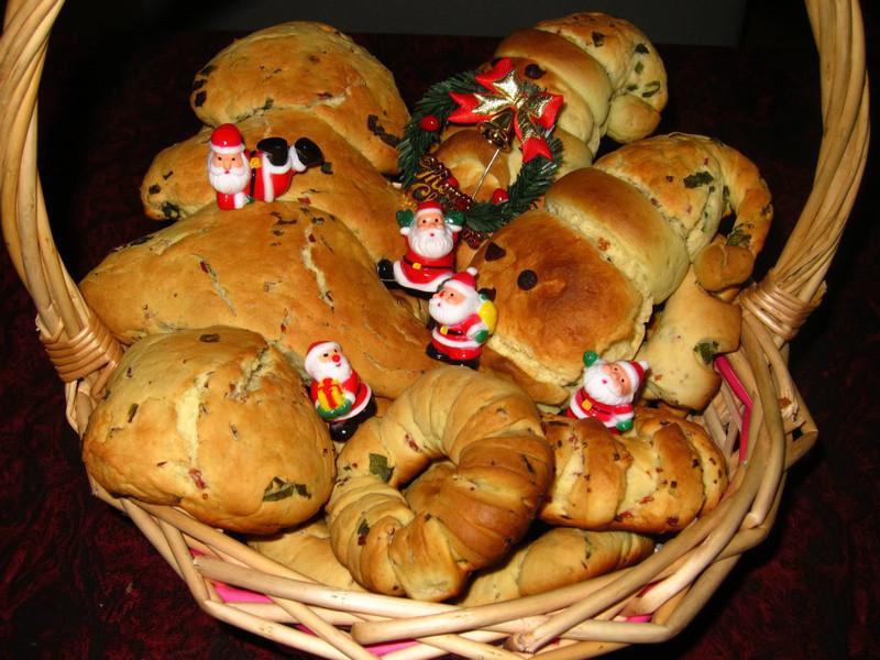 「芝司樂」熱鬧的聖誕麵包