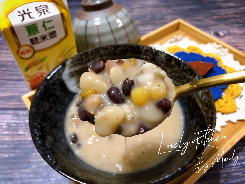 八寶薏仁糙米漿【零廚藝】