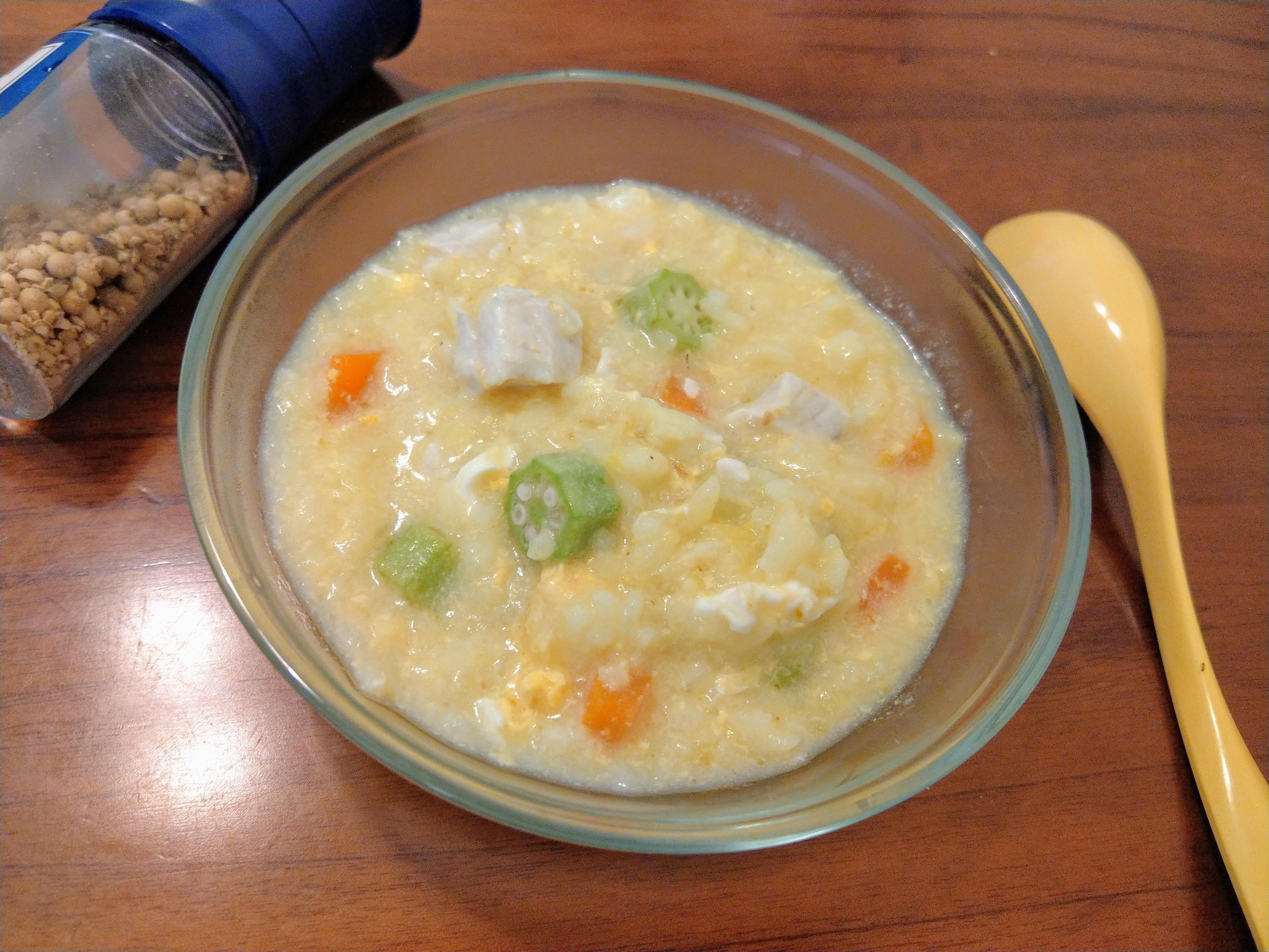 虱目魚柳粥