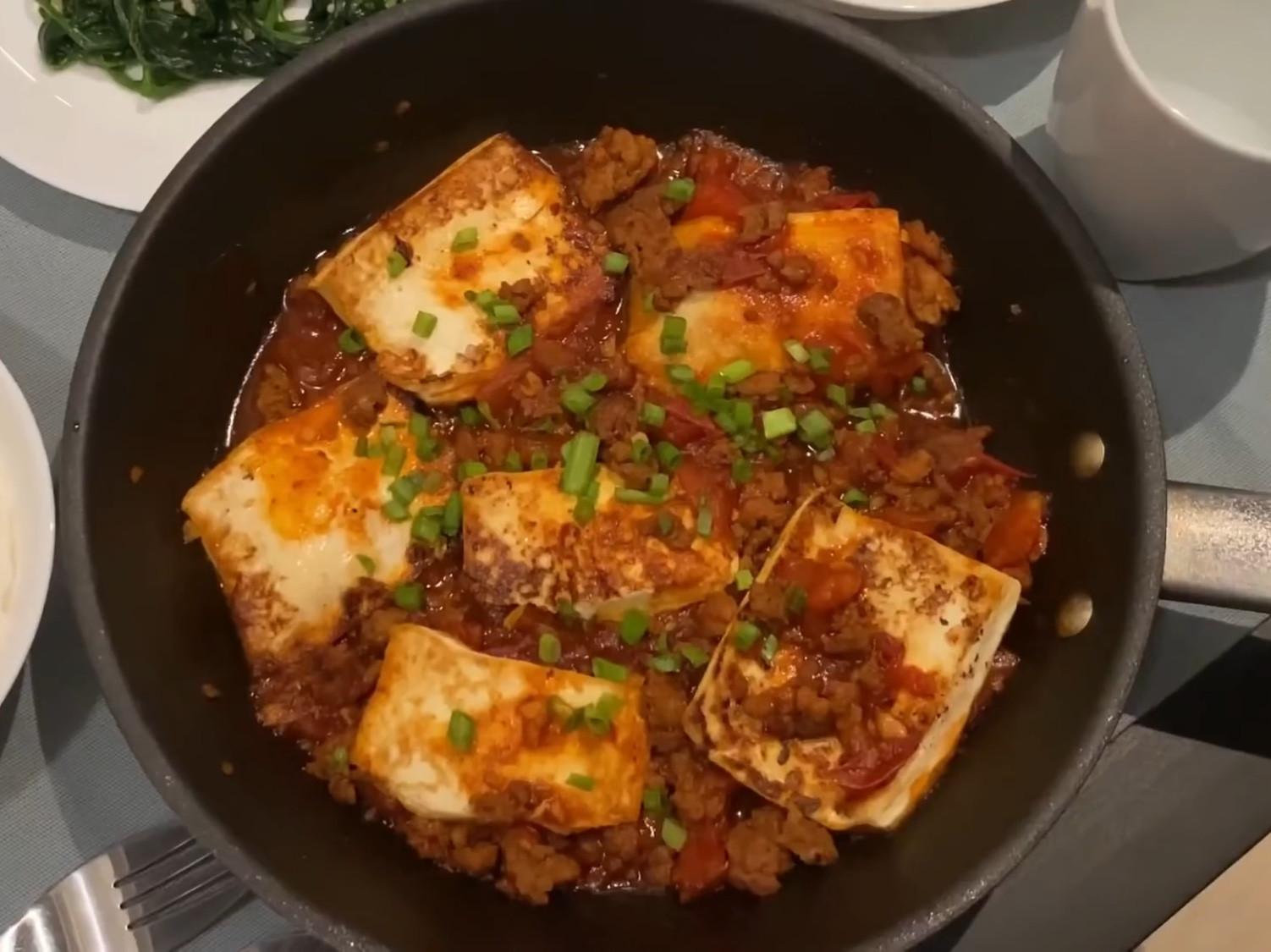蕃茄肉碎繪豆腐