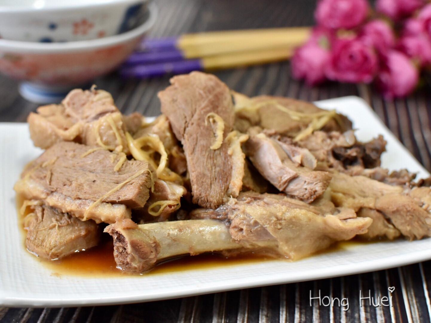 醬油炒鴨肉