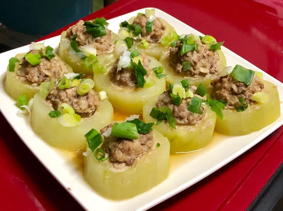 大黃瓜鑲肉-夏日料理