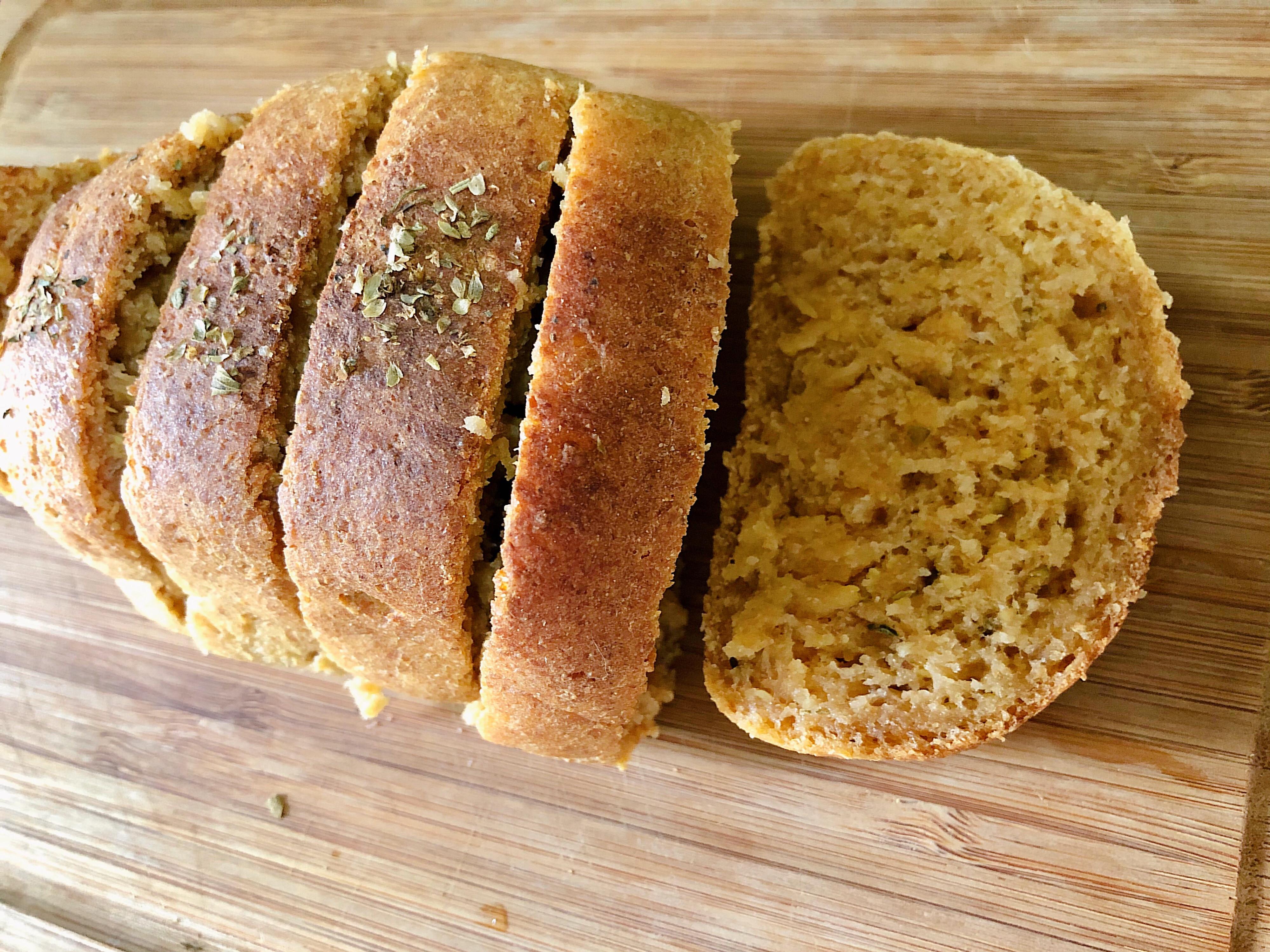用剩飯做麵包🍚義式蕃茄米麵包🍞無麩質