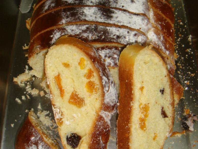 聖誕麵包-包裹嬰孩的布巾-史多倫麵包