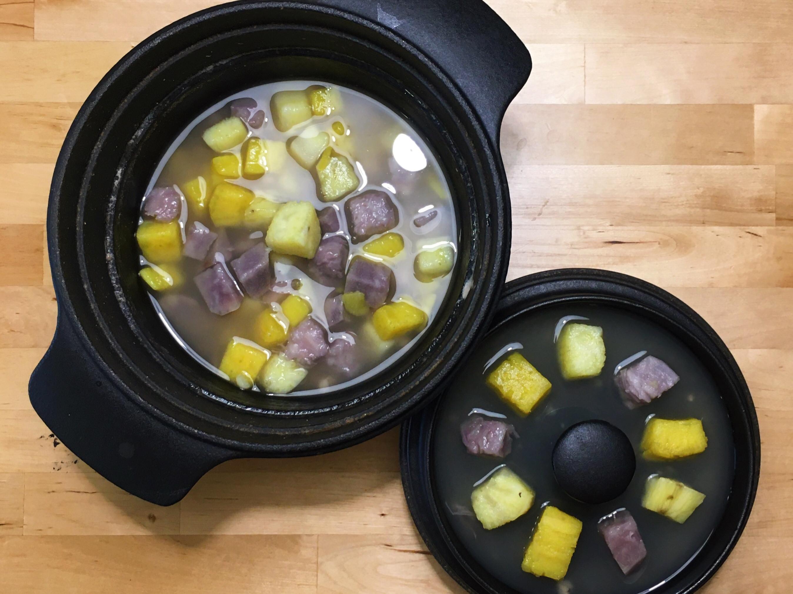 地瓜芋頭冰甜湯