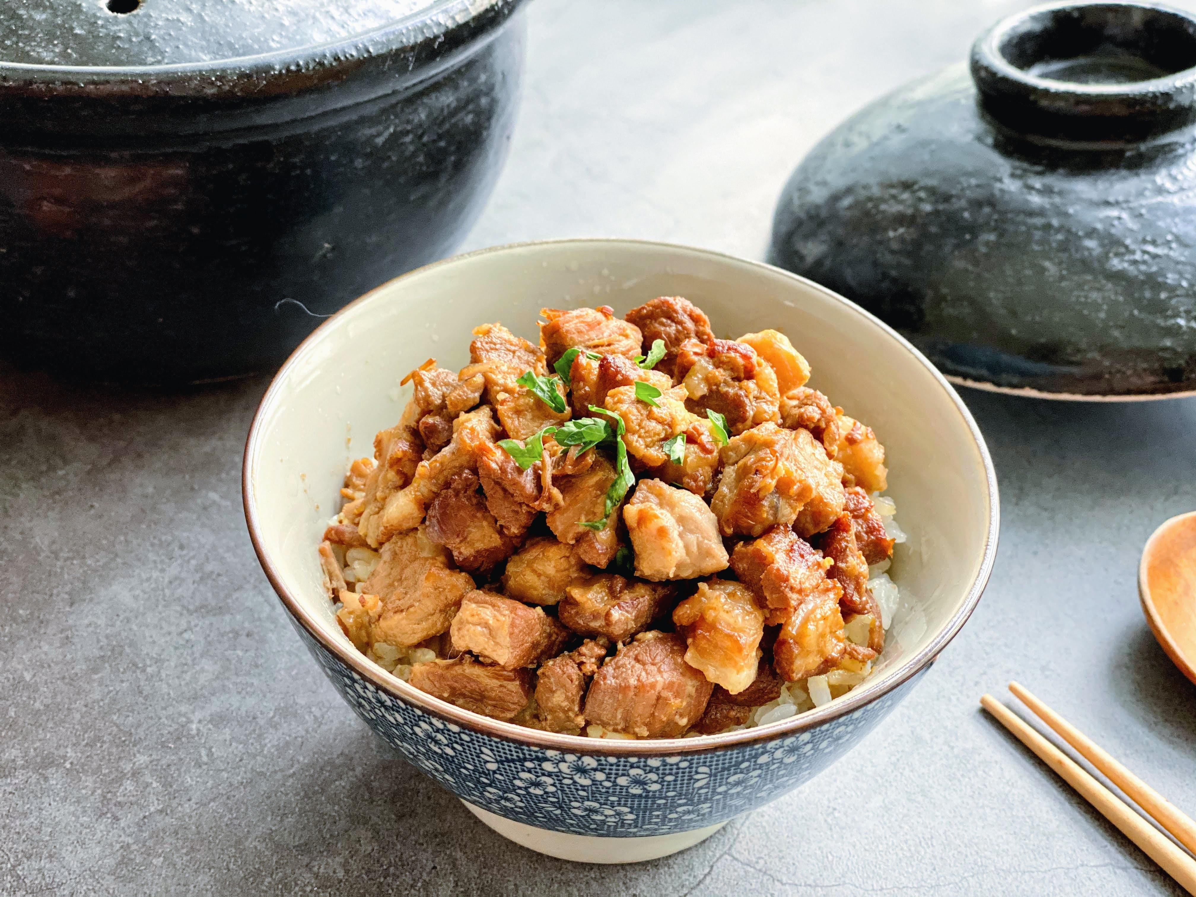 「手切滷肉飯」常備肉醬系列