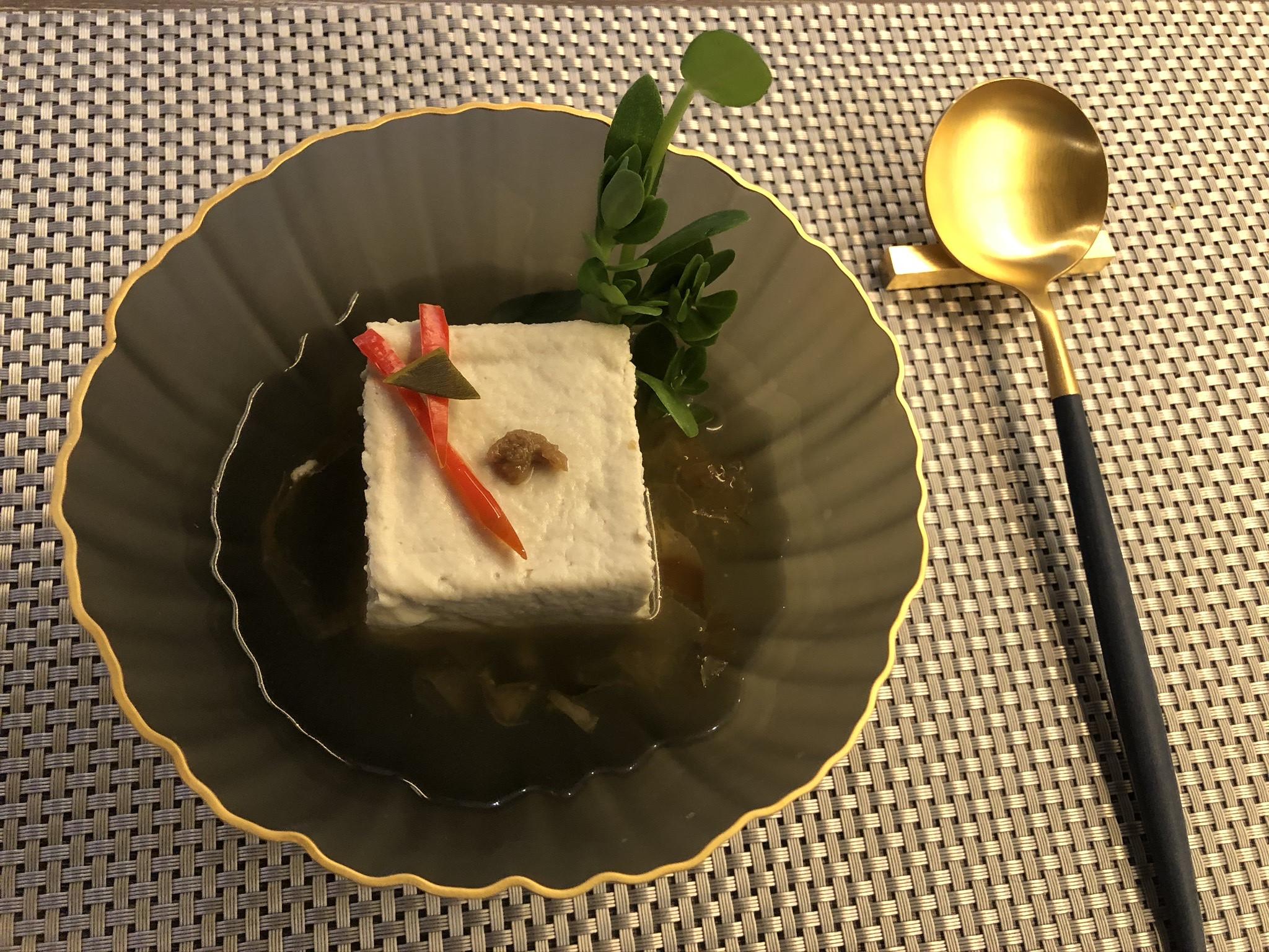 木棉柴魚冷豆腐