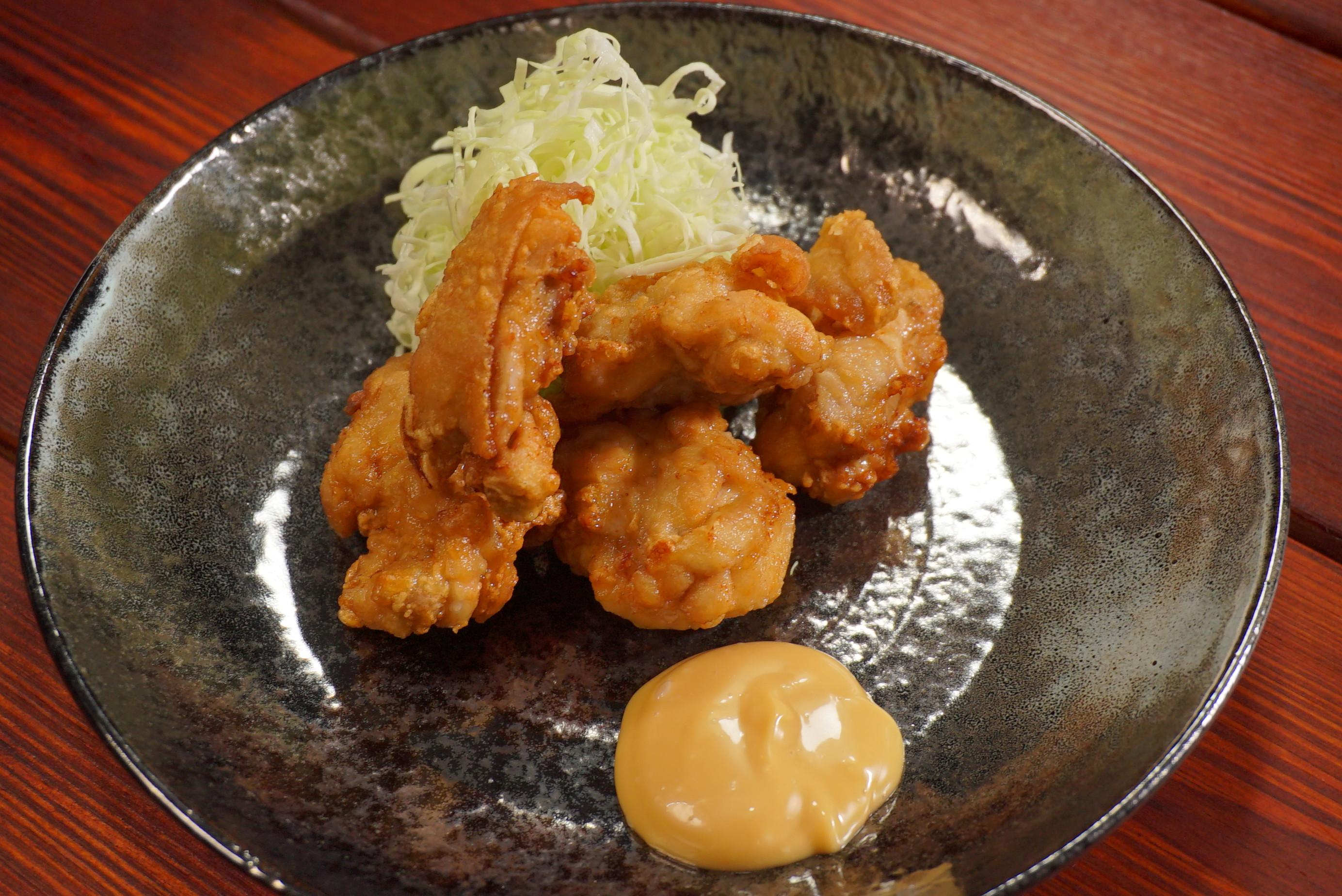 唐揚雞塊-豆油伯甘田醬油