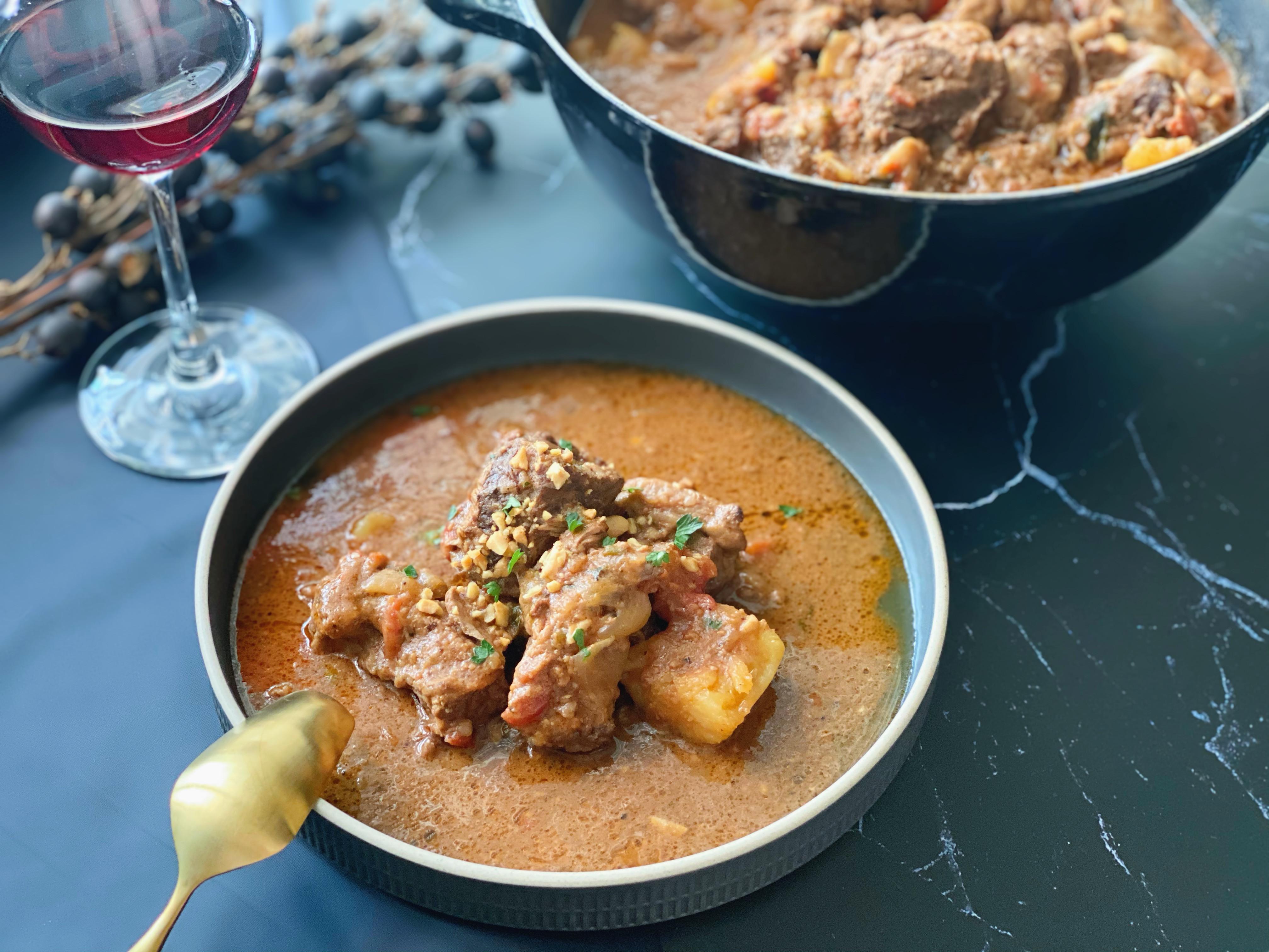 西非花生醬燉牛肉