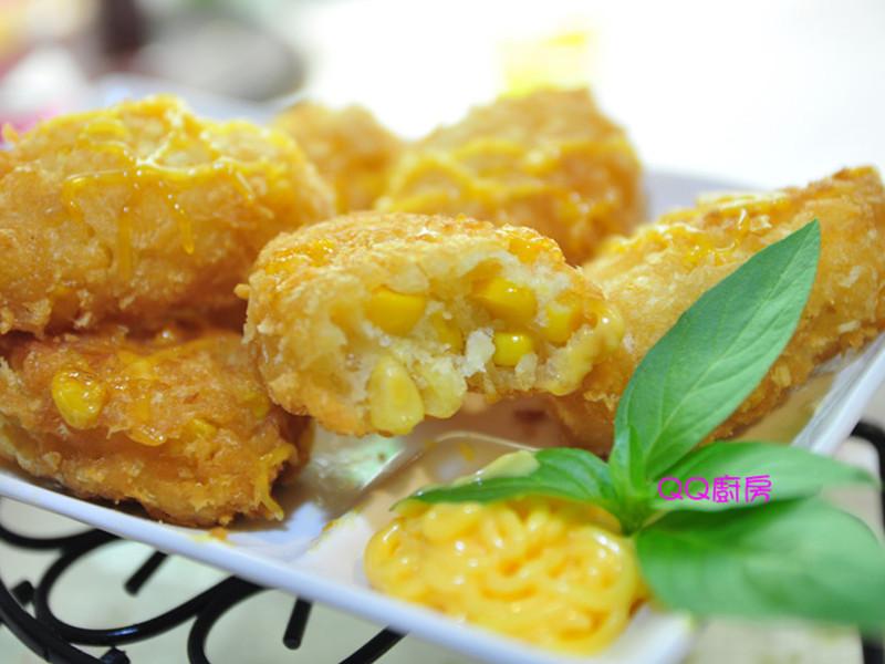 【黃金玄米油HOME炸料理】玉米可樂餅