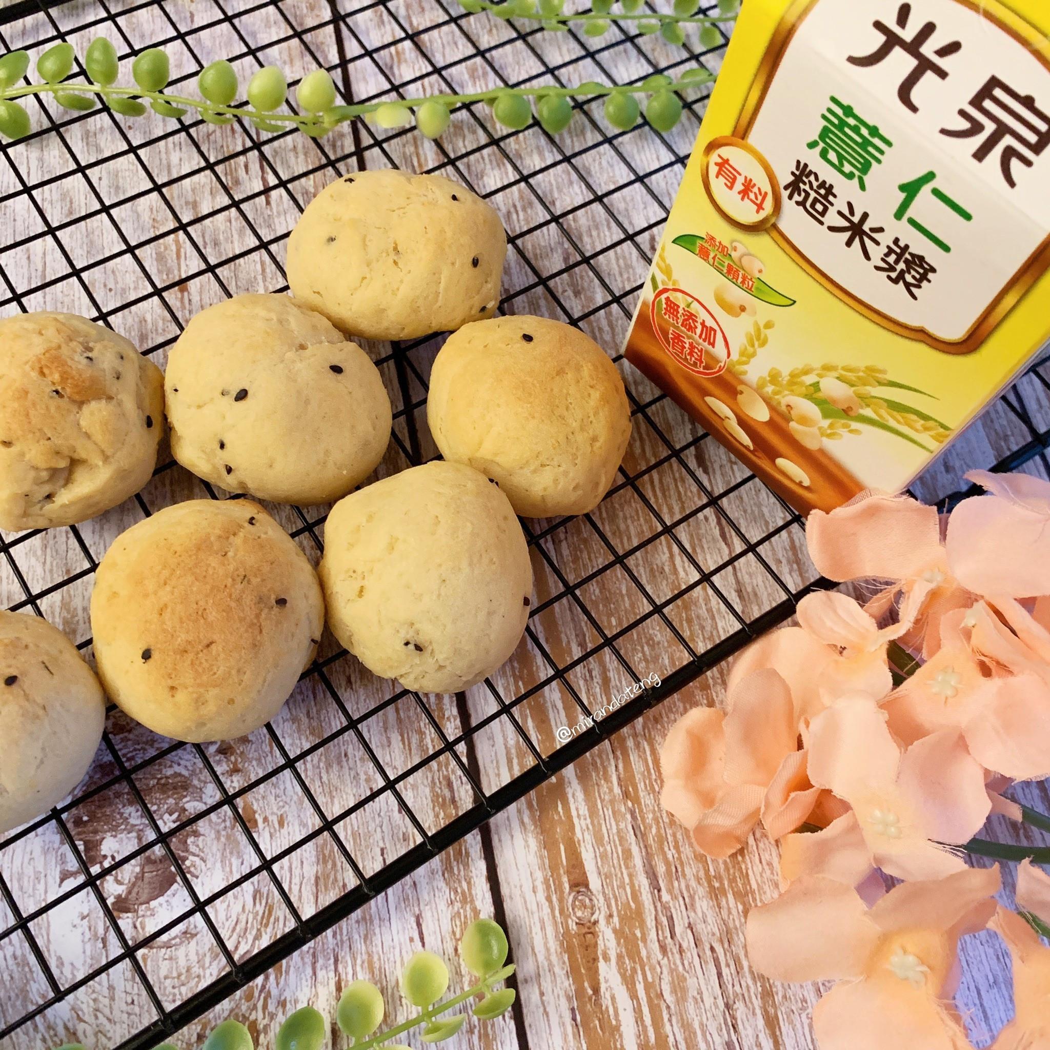韓國麻糬球(薏仁米漿)