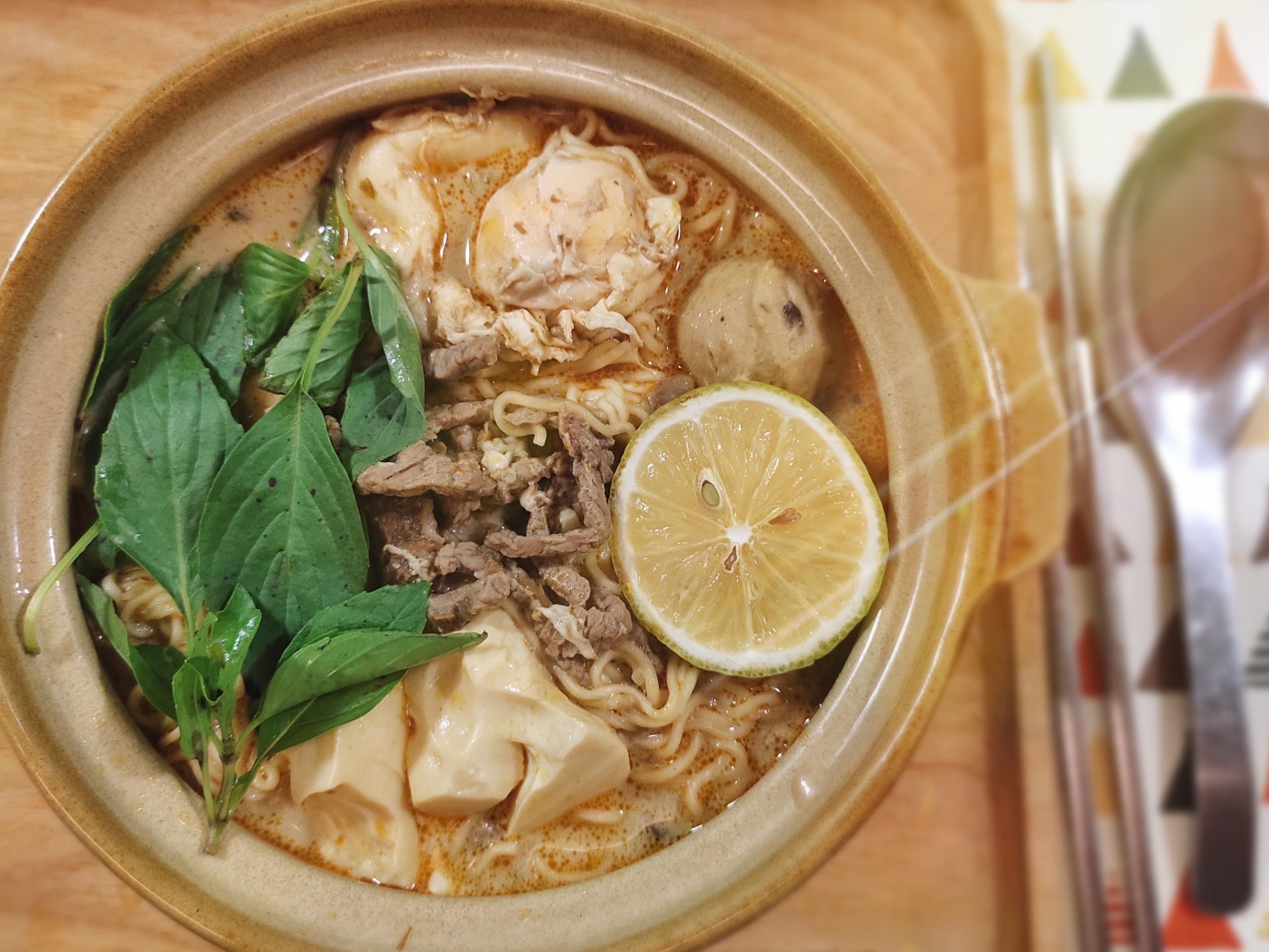 泰式麻辣椰奶麵