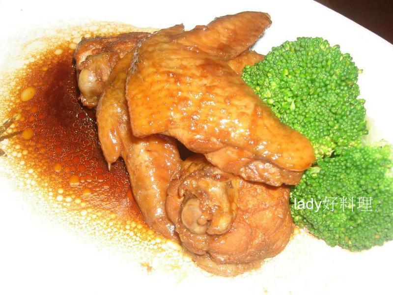 醬燒蜜雞翅