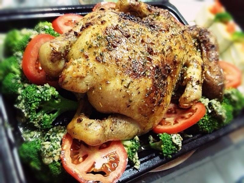 《義大利烤全雞》---耶誕節應景
