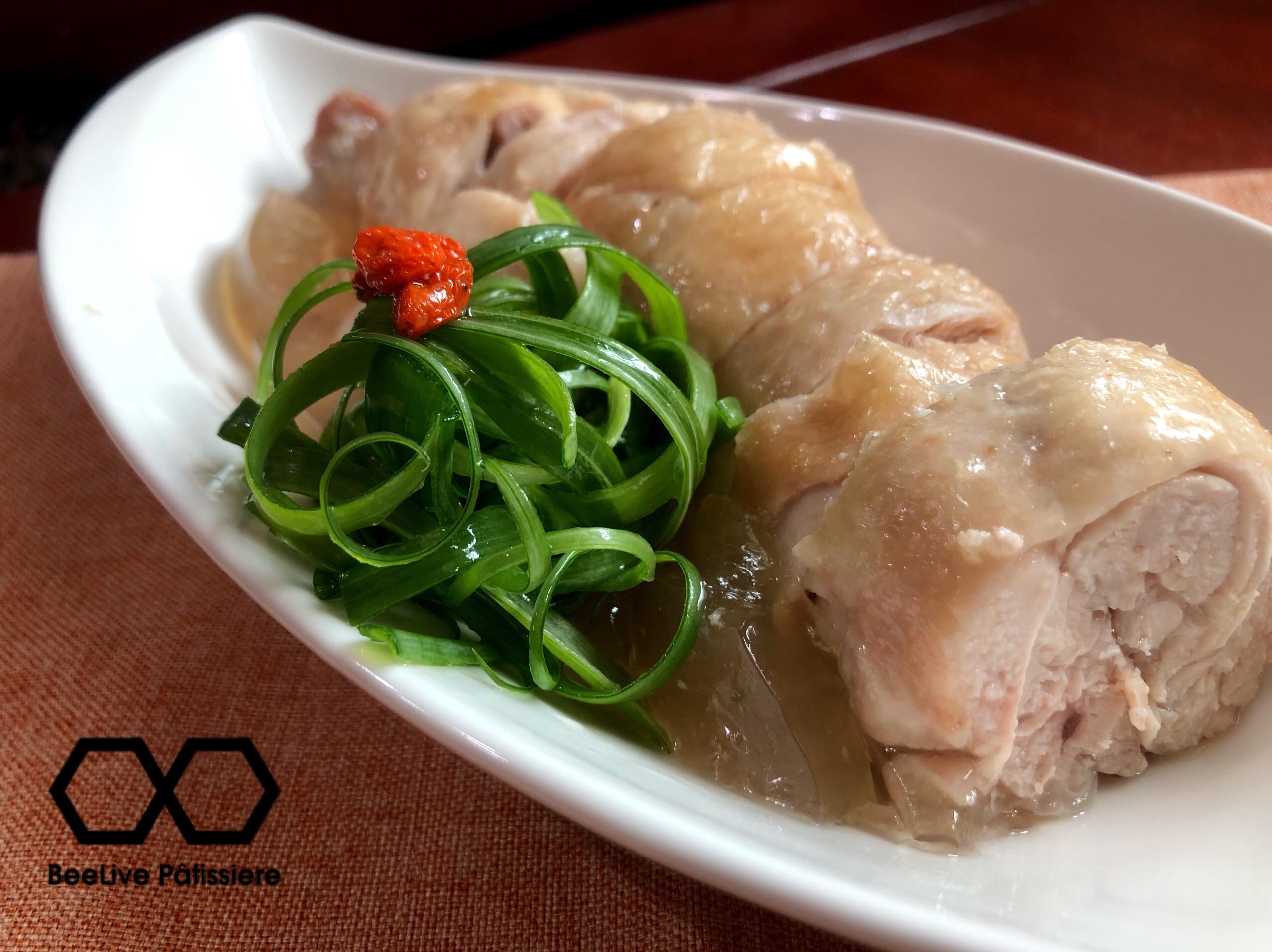 水晶雞腿凍卷《電鍋料理》